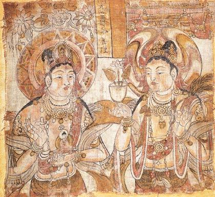 敦煌壁画艺术展 - 香儿 - xianger