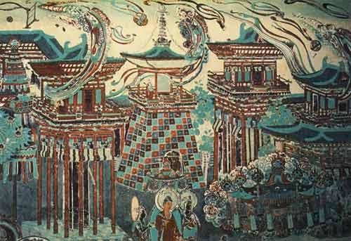 魅力敦煌 尊贵壁画⑶ - 香儿 - xianger